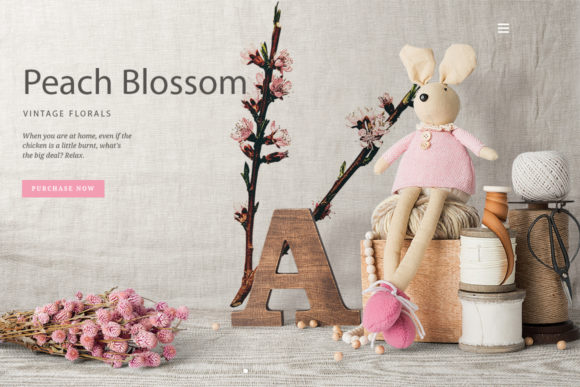 Crosby Peach Blossom Graphic Illustrations By Enliven Designs - Image 2