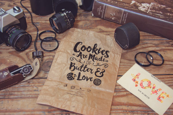 Crumpled Paper Bag Mockup Graphic Product Mockups By SmartDesigns