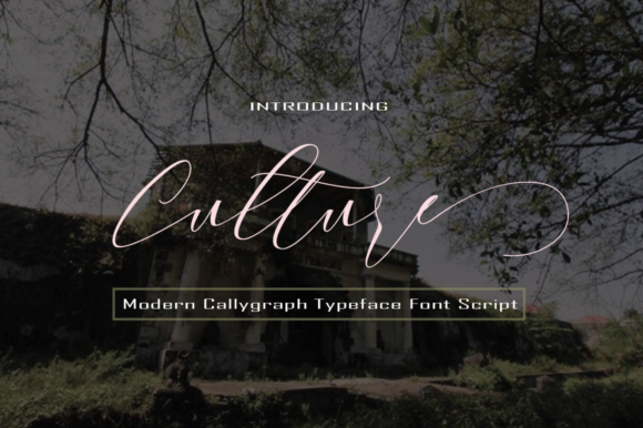 Print on Demand: Culture Script & Handwritten Font By faisal_Alfaraby