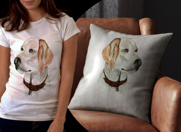 Cute Dog Graphic Illustrations By Ambar Art - Image 2