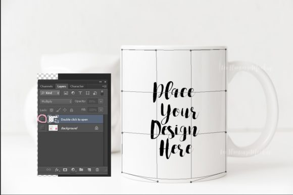 Download Free Cute Coffee Mug Mock Up Graphic By Leo Flo Mockups Creative for Cricut Explore, Silhouette and other cutting machines.