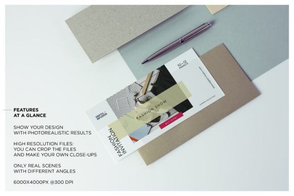 DL Flyer / Invitation Mock-up Graphic Product Mockups By dumitrasconiu.design - Image 3