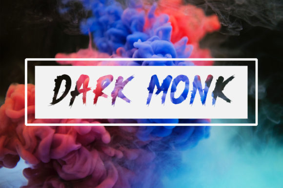 Print on Demand: Dark Monk Display Schriftarten von rometheme