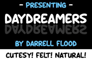 Daydreamers Font By Dadiomouse