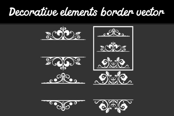 Print on Demand: Decorative Element Border Graphic Icons By Arief Sapta Adjie