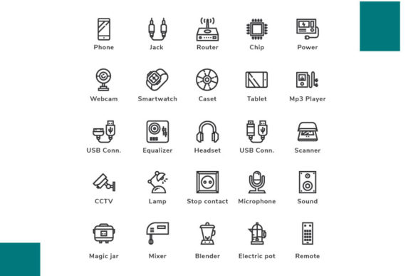 Download Free Device Outline Grafik Von Icon Stale Creative Fabrica for Cricut Explore, Silhouette and other cutting machines.