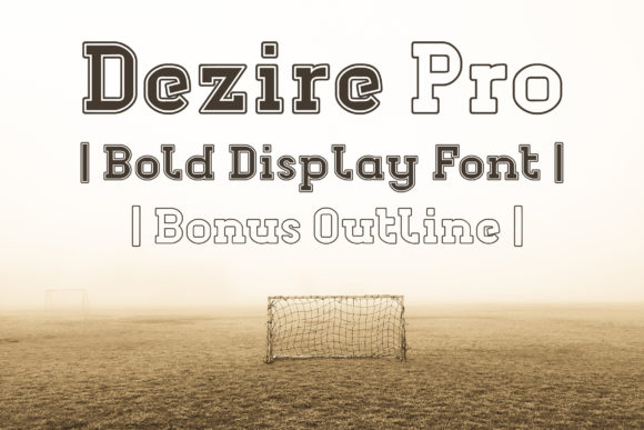 Print on Demand: Dezire Pro Family Serif Font By Dasagani - Image 1