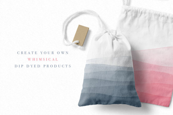 Dip Dye Watercolor Backgrounds Graphic Backgrounds By By Lef - Image 2