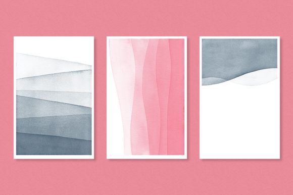 Dip Dye Watercolor Backgrounds Graphic Backgrounds By By Lef - Image 5