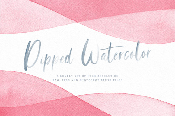 Dip Dye Watercolor Backgrounds Graphic Backgrounds By By Lef - Image 1