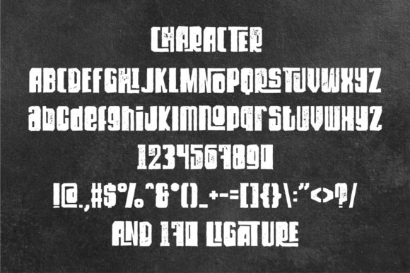 Dirty Rock Font By putracetol Image 8