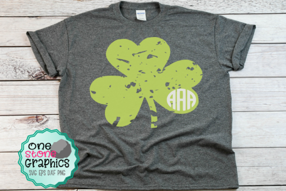 Download Free Distressed Clover Svg Graphic By Onestonegraphics Creative Fabrica for Cricut Explore, Silhouette and other cutting machines.