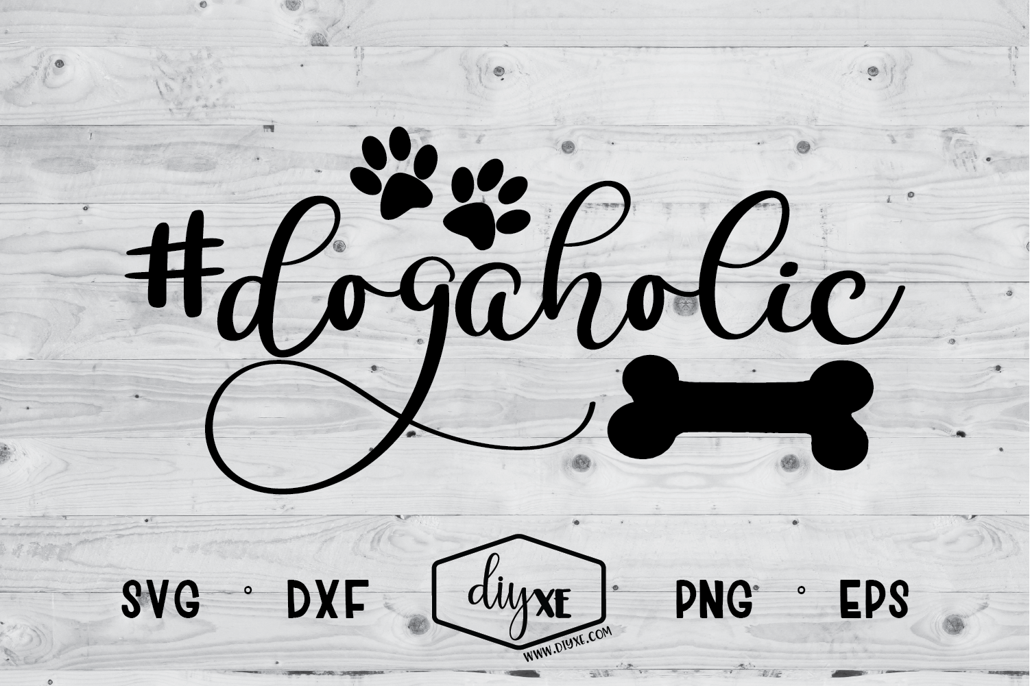 Download Free Dogaholic Graphic By Sheryl Holst Creative Fabrica for Cricut Explore, Silhouette and other cutting machines.