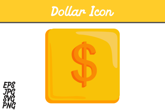 Download Free Dollar Icon Graphic By Arief Sapta Adjie Creative Fabrica for Cricut Explore, Silhouette and other cutting machines.