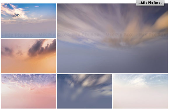 Print on Demand: Dramatic Sky Overlays Graphic Layer Styles By MixPixBox - Image 3