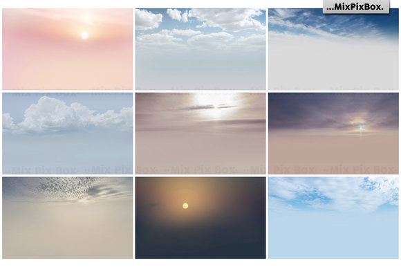 Print on Demand: Dramatic Sky Overlays Graphic Layer Styles By MixPixBox - Image 4