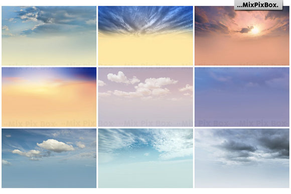 Print on Demand: Dramatic Sky Overlays Graphic Layer Styles By MixPixBox - Image 5