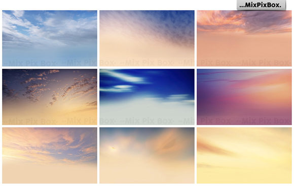 Print on Demand: Dramatic Sky Overlays Graphic Layer Styles By MixPixBox - Image 6