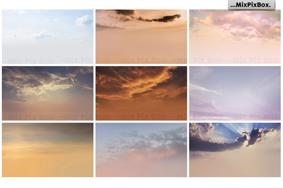 Print on Demand: Dramatic Sky Overlays Graphic Layer Styles By MixPixBox - Image 8
