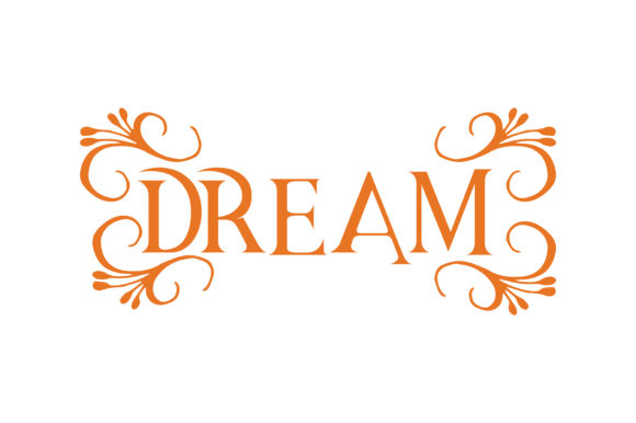 Print on Demand: Dream Quote SVG Cut Graphic Crafts By TheLucky