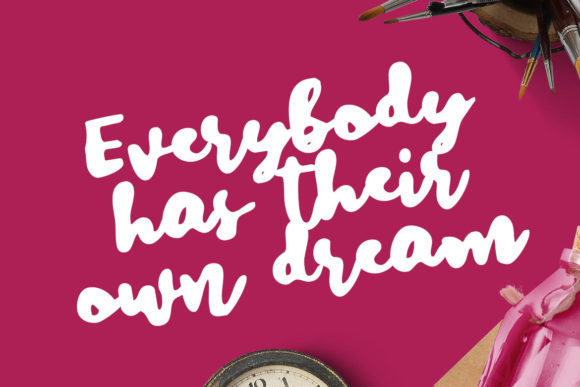 Print on Demand: Dreaming Times Script & Handwritten Font By Lettersiro Co. - Image 2
