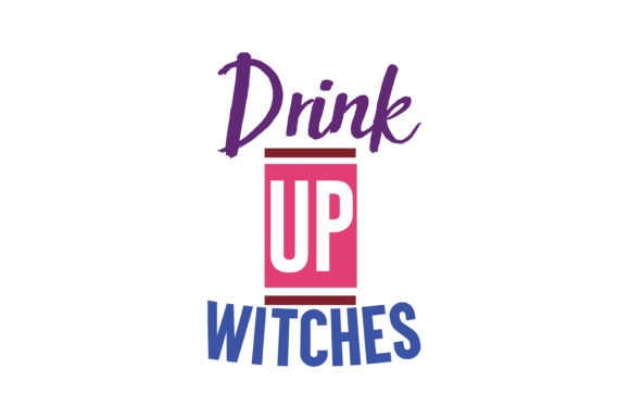 Download Free Drink Up Witches Quote Svg Cut Graphic By Thelucky Creative for Cricut Explore, Silhouette and other cutting machines.