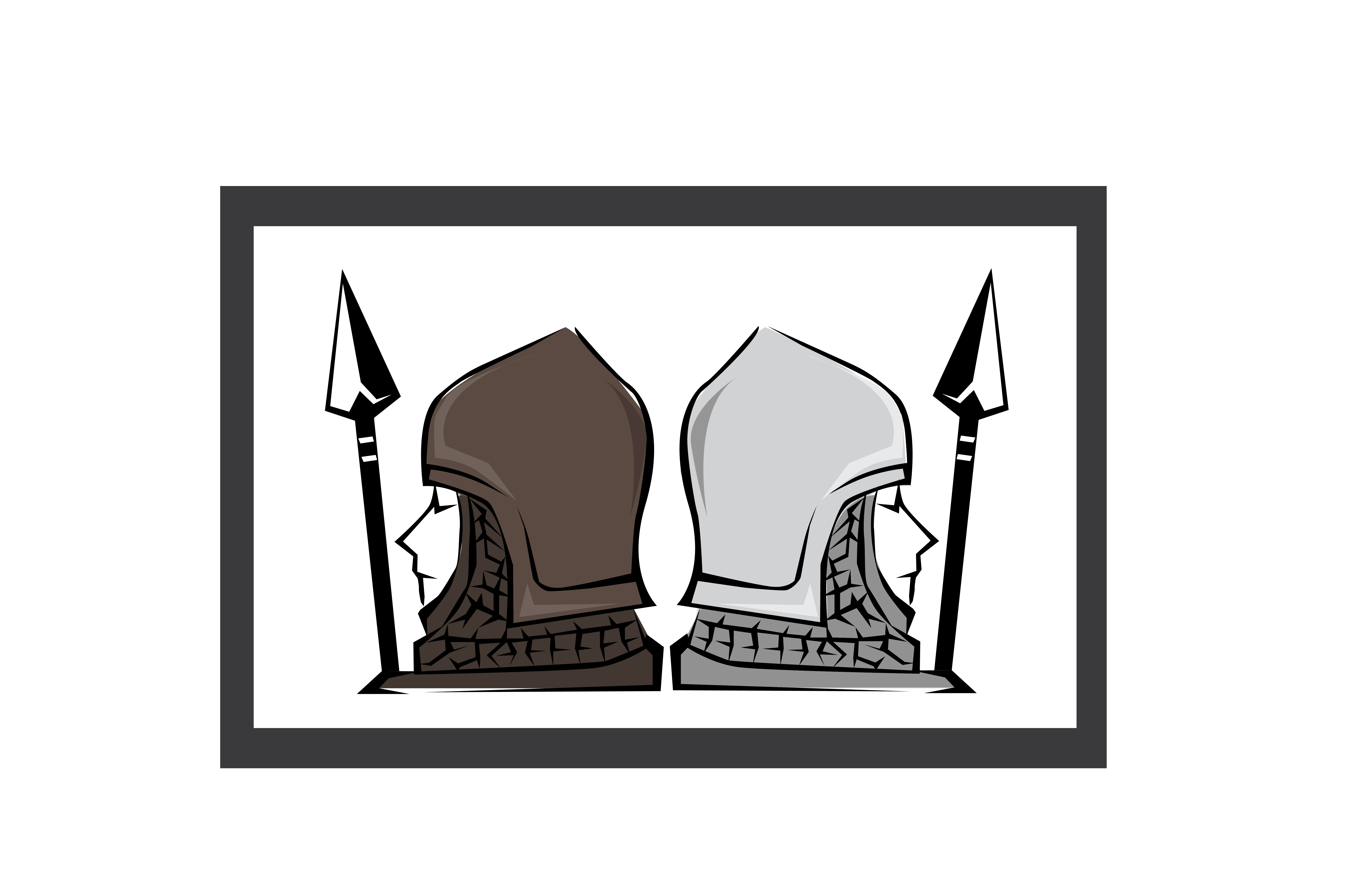 Download Free Dual Spearman Graphic By Akaisredinjapan Creative Fabrica for Cricut Explore, Silhouette and other cutting machines.