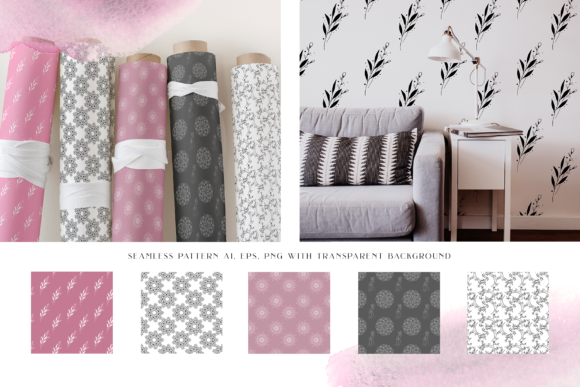Dusc Pink Graphic Objects By BilberryCreate - Image 2
