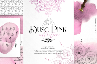 Dusc Pink Graphic By BilberryCreate