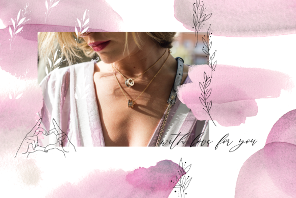 Dusc Pink Graphic Objects By BilberryCreate - Image 9
