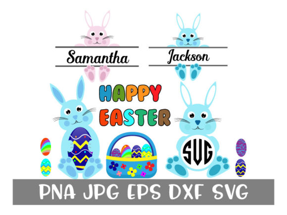 Download Free Easter Bundle Bunny Graphic By Goran Stojanovic Creative Fabrica SVG Cut Files