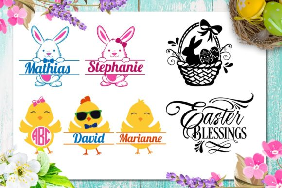 Easter Bundle 30 Easter Files Graphic By Blackcatsmedia