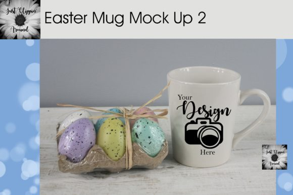 Easter Mug Mockup Graphic Product Mockups By justclippinaround