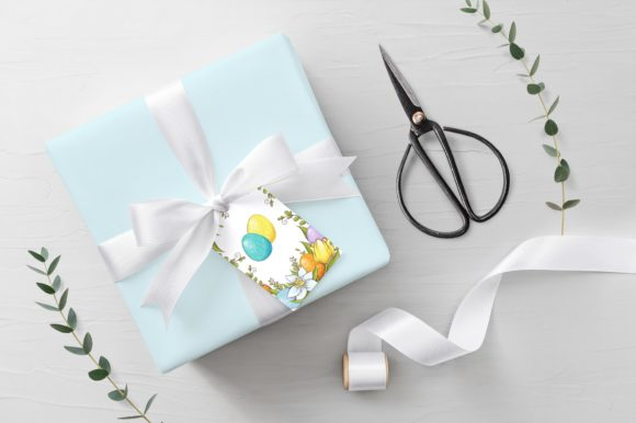 Print on Demand: Lovely Easter Vector Clip Art Graphic Illustrations By nicjulia - Image 6