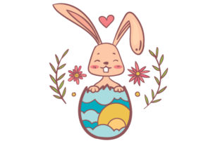 Easter Bunny Easter Craft Cut File By Creative Fabrica Crafts