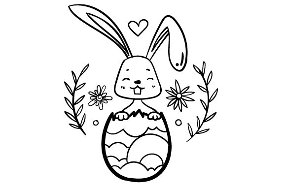 Easter Bunny Easter Craft Cut File By Creative Fabrica Crafts - Image 2