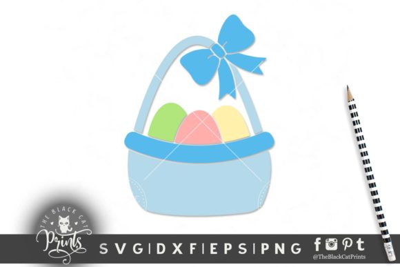 Download Free Easter Clipart Graphic By Theblackcatprints Creative Fabrica for Cricut Explore, Silhouette and other cutting machines.