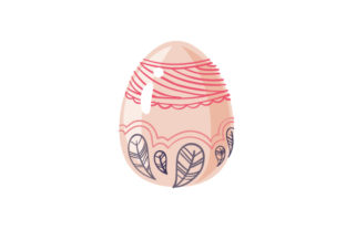 Easter Egg Easter Craft Cut File By Creative Fabrica Crafts