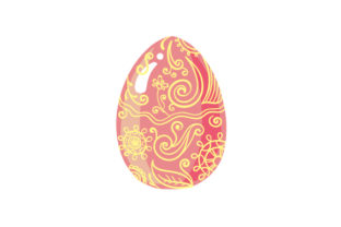 Easter Egg Craft Design By Creative Fabrica Crafts