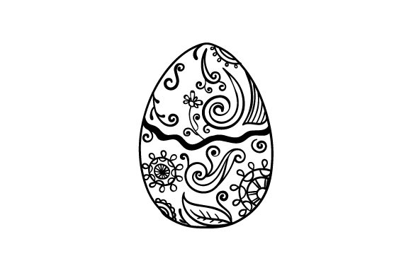 Download Free Easter Egg Svg Cut File By Creative Fabrica Crafts Creative for Cricut Explore, Silhouette and other cutting machines.