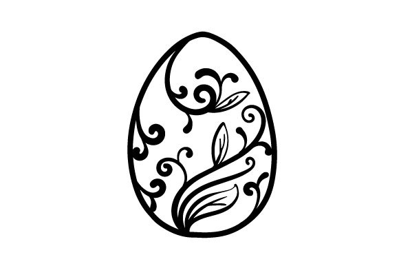 Easter Egg Easter Craft Cut File By Creative Fabrica Crafts - Image 2