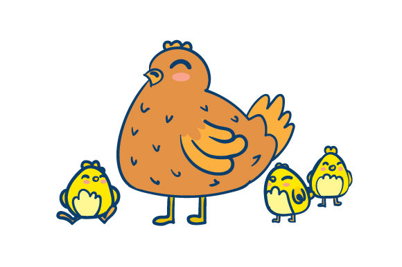 Download Free Easter Hen With Chicks Svg Cut File By Creative Fabrica Crafts for Cricut Explore, Silhouette and other cutting machines.