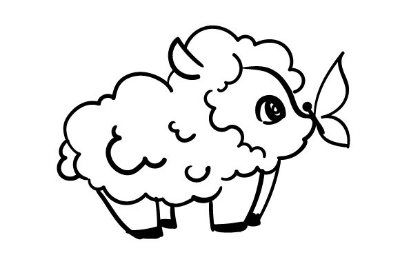 Download Free Easter Lamb Svg Cut File By Creative Fabrica Crafts Creative for Cricut Explore, Silhouette and other cutting machines.