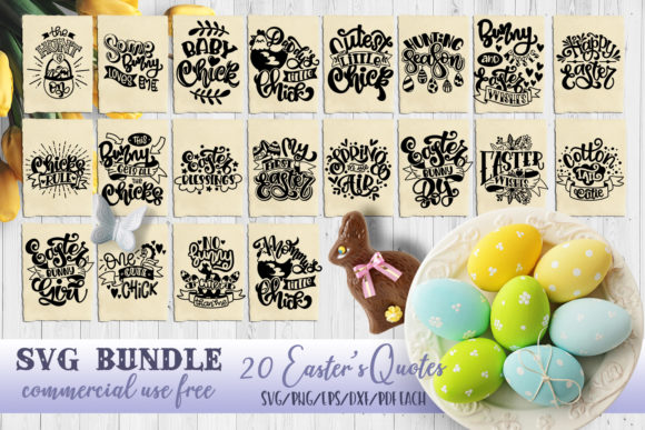 Download Free Easter Bundle Graphic By Svg Story Creative Fabrica for Cricut Explore, Silhouette and other cutting machines.