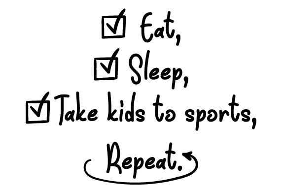 Download Free Eat Sleep Take Kids To Sports Repeat Svg Cut File By Creative for Cricut Explore, Silhouette and other cutting machines.