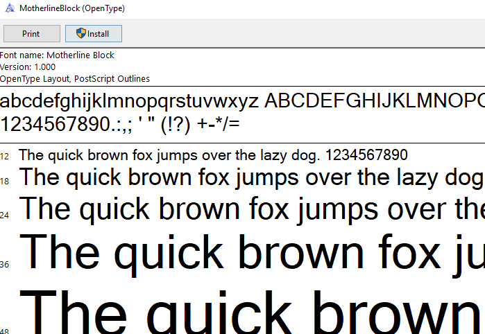 Error And Warning Messages When Installing Fonts On Mac