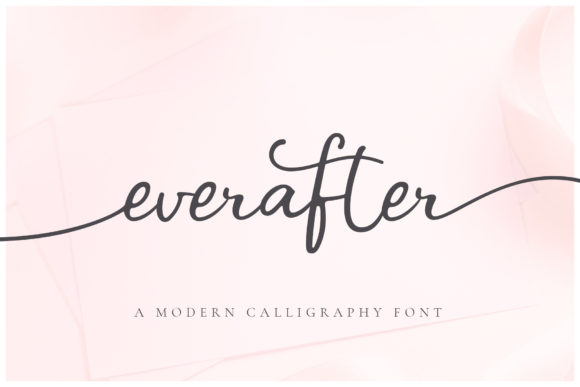 Print on Demand: Ever After Script & Handwritten Font By Ayca Atalay