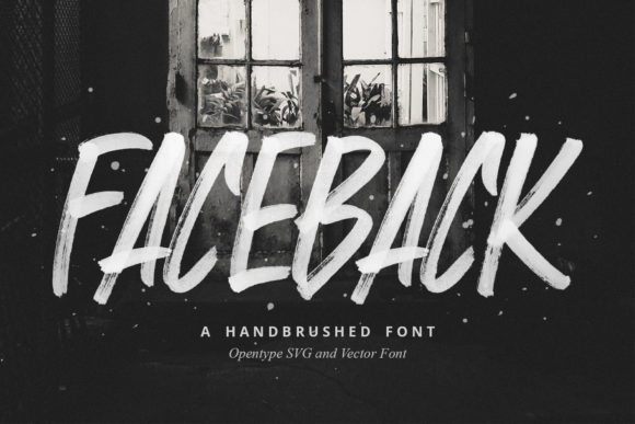 Print on Demand: Faceback  Color Fonts Font By Sameeh Media