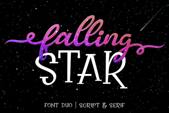 Print on Demand: Falling Star Duo Manuscrita Fuente Por Subectype
