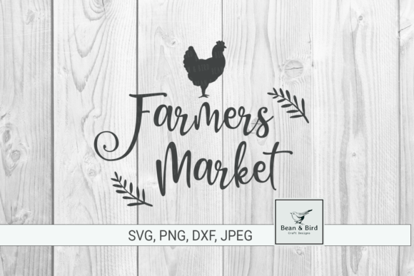 Print on Demand: Farmers Market Graphic Crafts By Jessica Maike